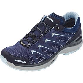 Lowa Maddox GTX Low Shoes Women navy/iceblue